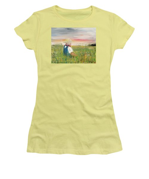 Country Dreams Women's T-Shirt (Athletic Fit)