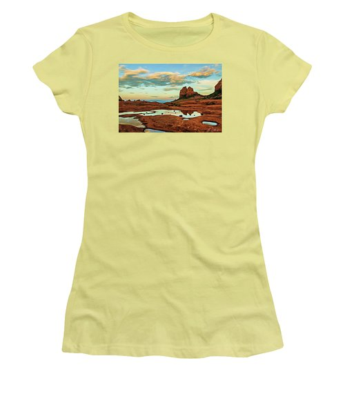 Cowpie 07-059 Women's T-Shirt (Junior Cut) by Scott McAllister