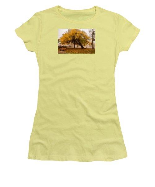 Cozy Women's T-Shirt (Junior Cut) by Joe Scott