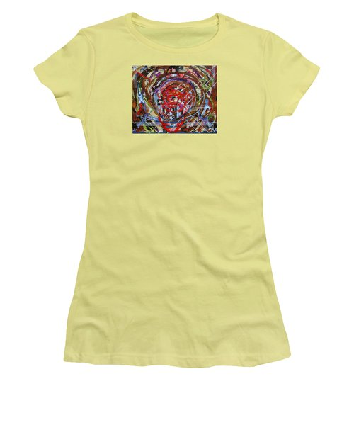 Crazy Quilt Star Dream Women's T-Shirt (Athletic Fit)