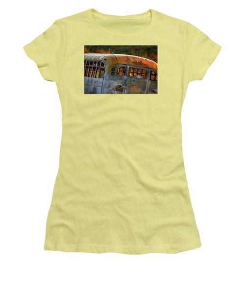 Women's T-Shirt (Junior Cut) featuring the photograph Creepers by Trish Mistric