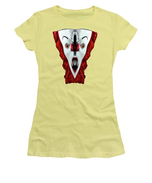 Creepy Clown 01215 Women's T-Shirt (Athletic Fit)