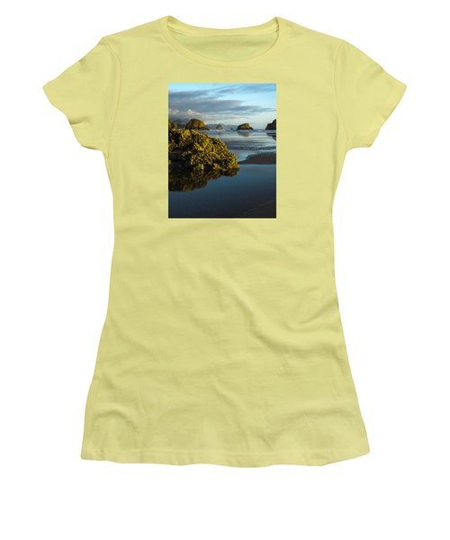 Crescent Beach Women's T-Shirt (Athletic Fit)