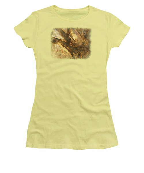 Women's T-Shirt (Junior Cut) featuring the photograph Crevasses by Sami Tiainen