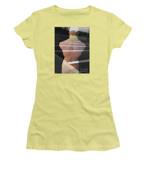 Crossing Over Women's T-Shirt (Junior Cut) by Lyric Lucas