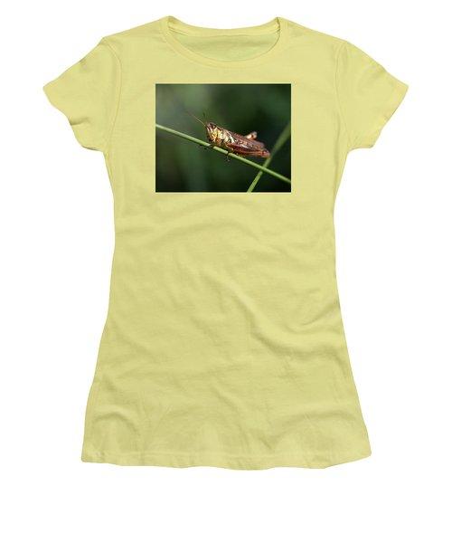 Crossroad Women's T-Shirt (Junior Cut) by Joseph Skompski