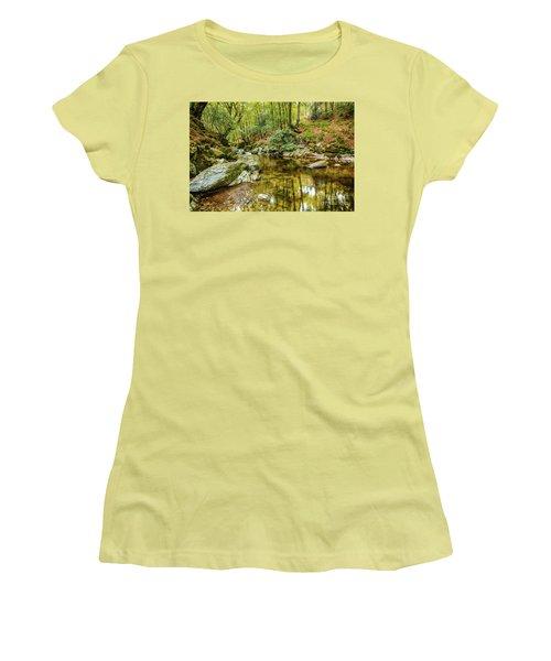 Crough Wood 1 Women's T-Shirt (Athletic Fit)