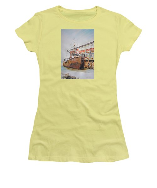 Crown Royal Women's T-Shirt (Junior Cut) by P Anthony Visco