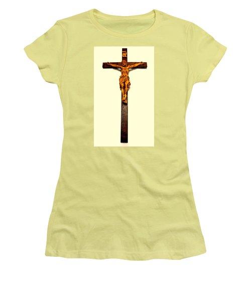 Crucifix Women's T-Shirt (Athletic Fit)