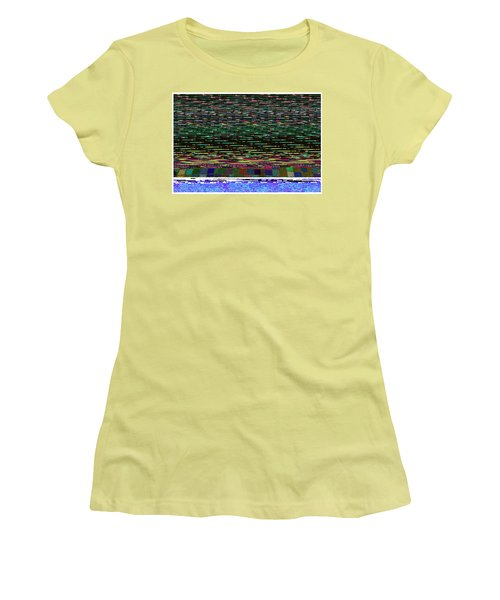 Crystal Balls And The Glitch For The Ditch Women's T-Shirt (Athletic Fit)