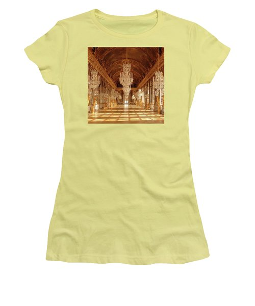 Crystalized  Women's T-Shirt (Athletic Fit)