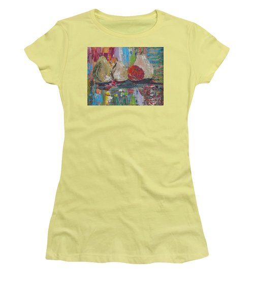 Cuatro Women's T-Shirt (Junior Cut) by Judith Espinoza