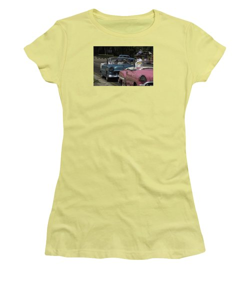 Cuba Car 4 Women's T-Shirt (Athletic Fit)