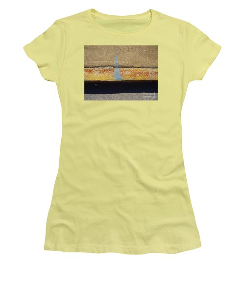 Curb Women's T-Shirt (Junior Cut) by Flavia Westerwelle