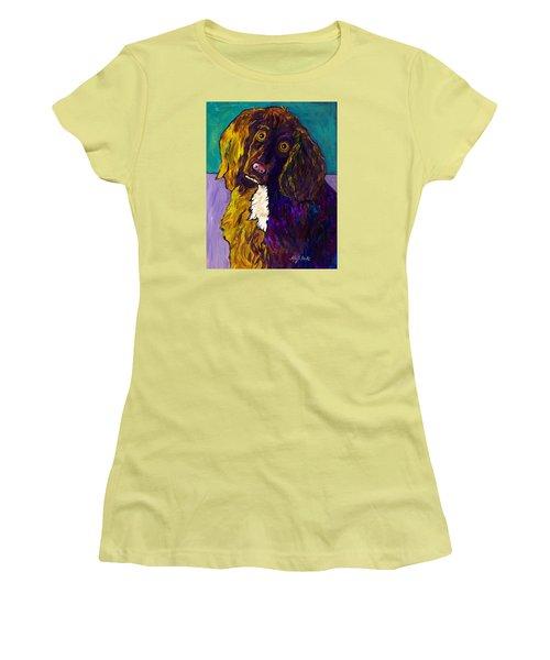 Curious Women's T-Shirt (Athletic Fit)