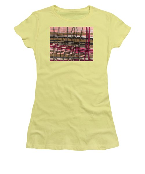 Stalks At Sunset Women's T-Shirt (Athletic Fit)