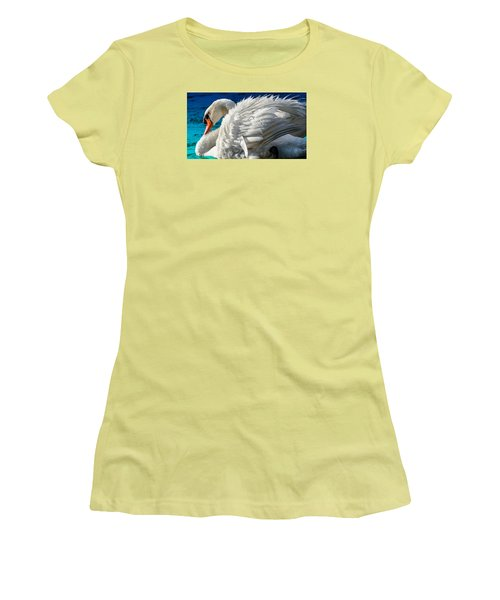 Women's T-Shirt (Junior Cut) featuring the photograph Cygnus Shine 3 by Brian Stevens