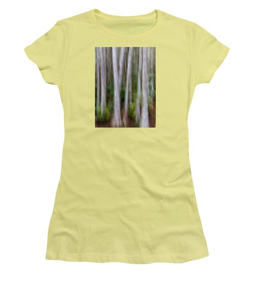 Cypress Swamp Women's T-Shirt (Athletic Fit)
