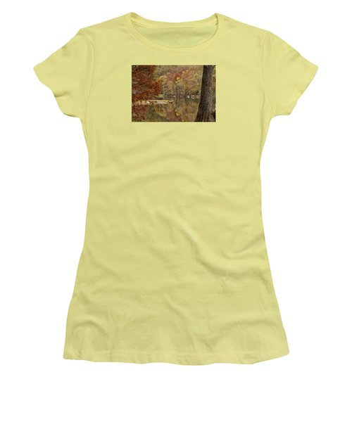 Cypress Window Women's T-Shirt (Athletic Fit)