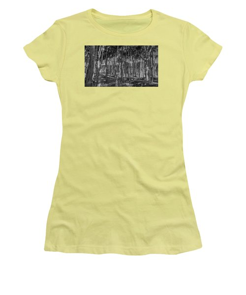 Cyprus On Point Lobos Women's T-Shirt (Athletic Fit)