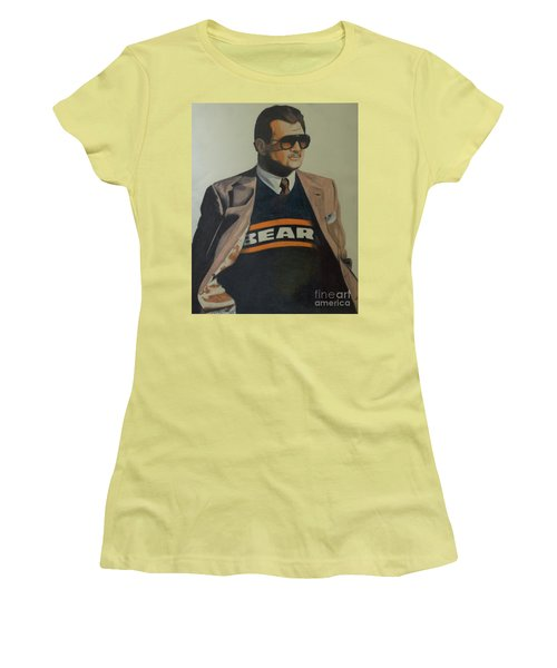 Da Coach Ditka Women's T-Shirt (Junior Cut) by Melissa Goodrich