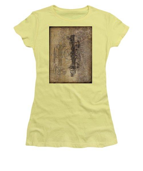 Dads Clarinet Women's T-Shirt (Junior Cut) by Jeffrey Jensen