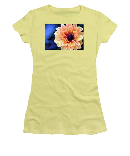Dahlia Beauty Women's T-Shirt (Junior Cut) by Debby Pueschel
