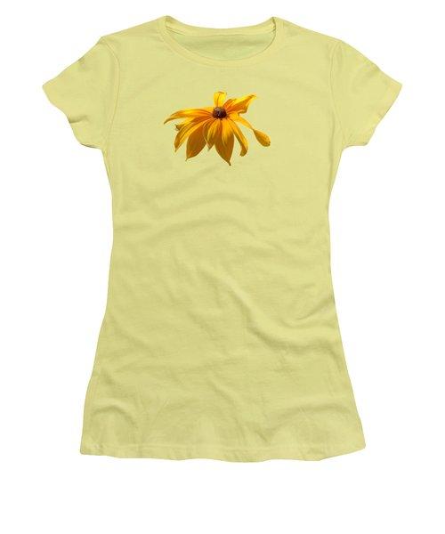 Daisy - Flower - Transparent Women's T-Shirt (Junior Cut) by Nikolyn McDonald