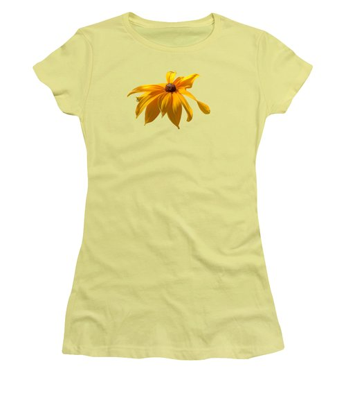 Daisy - Flower - Transparent Women's T-Shirt (Athletic Fit)