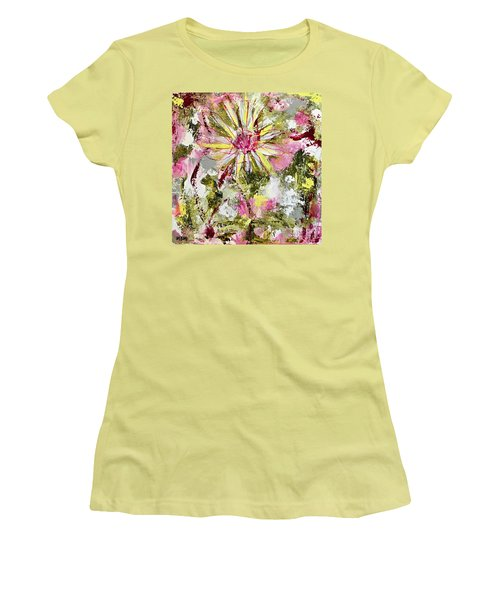 Daisies On Parade No. 1 Women's T-Shirt (Athletic Fit)