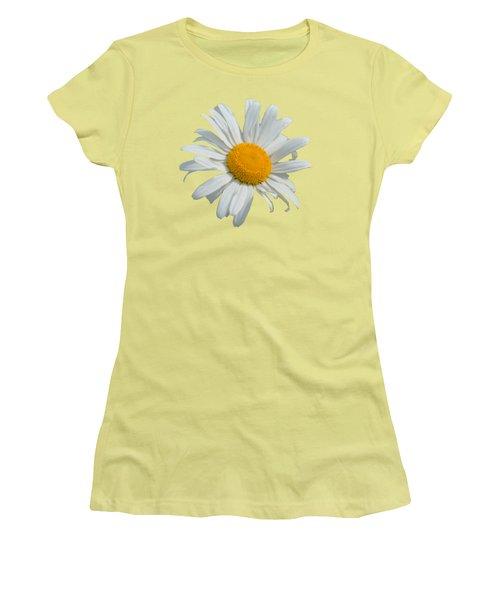 Women's T-Shirt (Junior Cut) featuring the photograph Daisy by Scott Carruthers