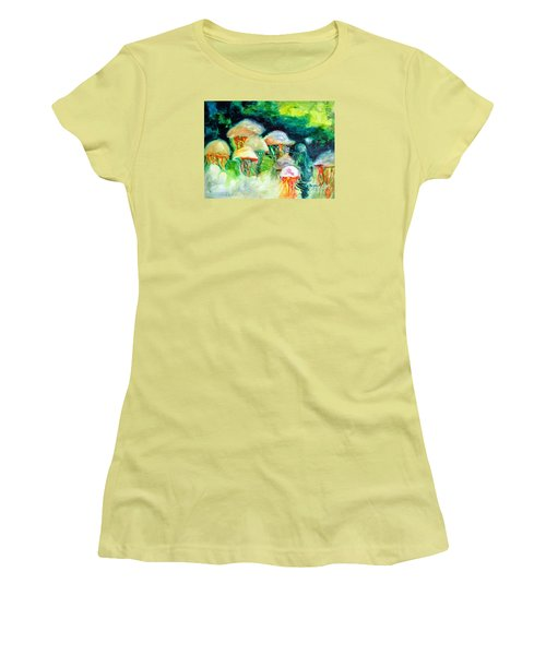 Dance Of The Jellyfish Women's T-Shirt (Athletic Fit)