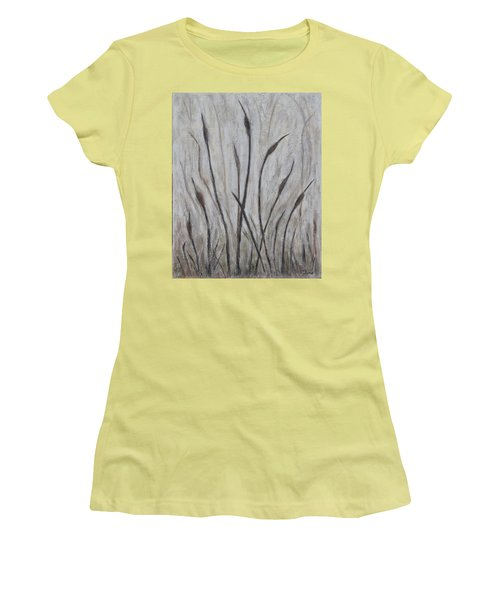Dancing Cattails 3 Women's T-Shirt (Junior Cut) by Trish Toro