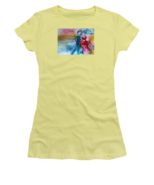 Dancing Into Eternity Women's T-Shirt (Athletic Fit)