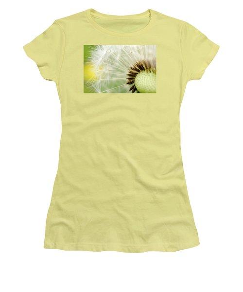 Dandelion Fluff Women's T-Shirt (Junior Cut) by Rainer Kersten