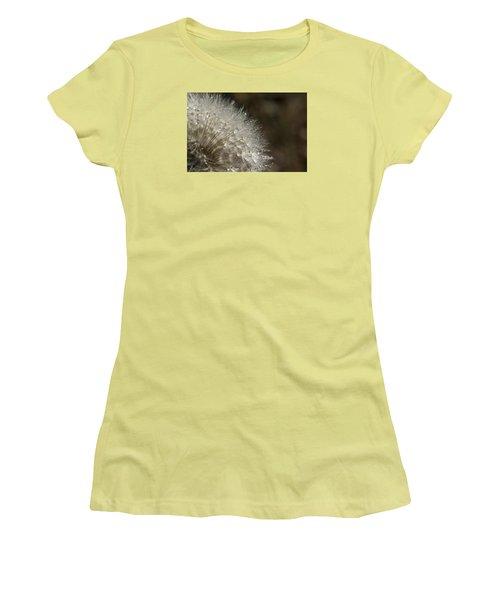 Dandelion Rain Women's T-Shirt (Junior Cut) by Shelly Gunderson