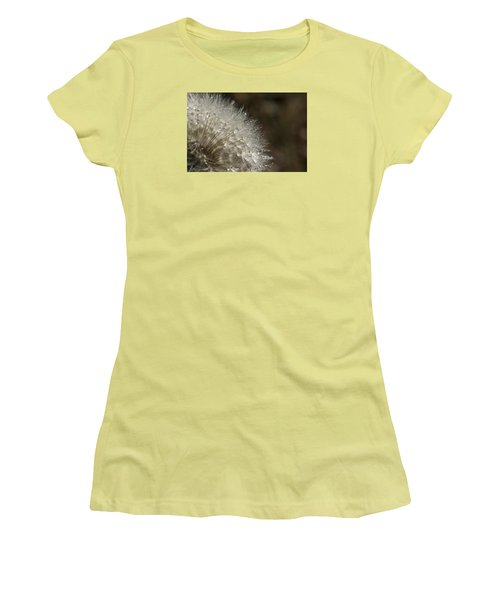 Dandelion Rain Women's T-Shirt (Athletic Fit)