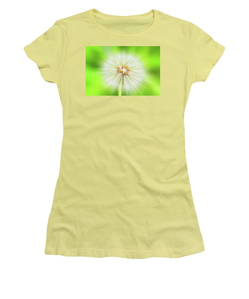Dandelion Warp Women's T-Shirt (Junior Cut) by David Stasiak