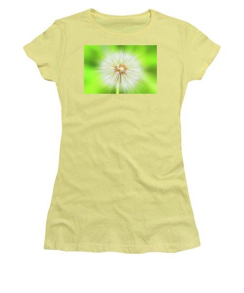 Dandelion Warp Women's T-Shirt (Athletic Fit)
