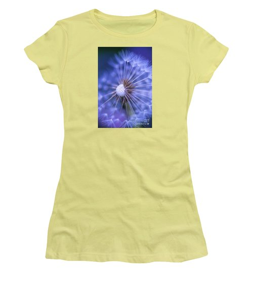Dandelion Wish Women's T-Shirt (Athletic Fit)