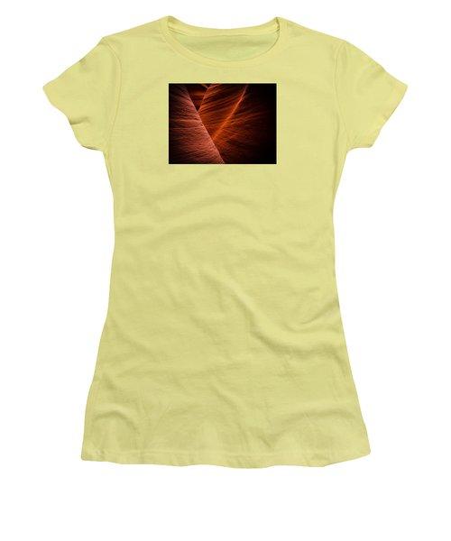 Dark Flow Women's T-Shirt (Athletic Fit)
