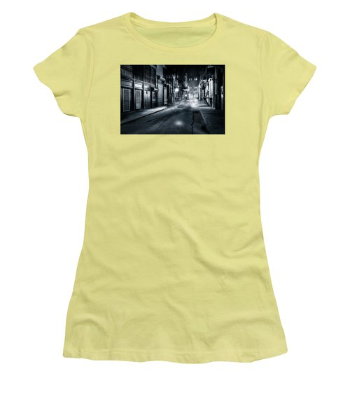 Dark Nyc Women's T-Shirt (Junior Cut) by Mihai Andritoiu