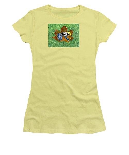 Dart Poison Frog Women's T-Shirt (Junior Cut) by Ralph Root