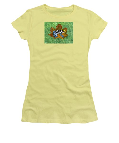 Dart Poison Frog Women's T-Shirt (Athletic Fit)