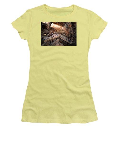 Darwin And Friends Women's T-Shirt (Junior Cut) by Giuseppe Torre
