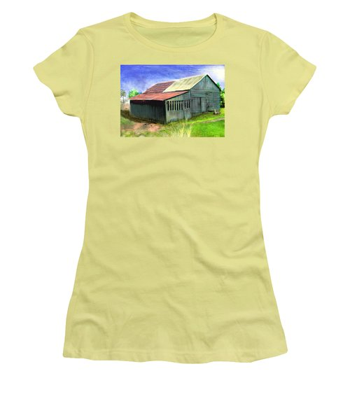 Dave's Barn Women's T-Shirt (Athletic Fit)