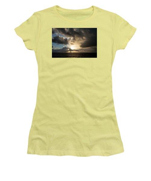 Day Break Women's T-Shirt (Junior Cut) by Allen Carroll