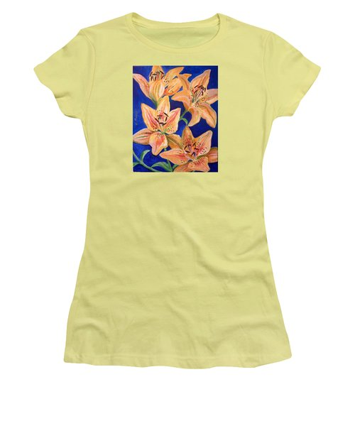 Day Lilies Women's T-Shirt (Athletic Fit)