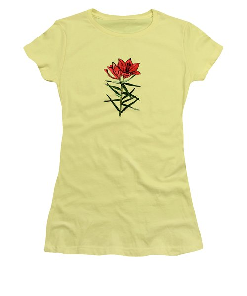 Day Lilly Women's T-Shirt (Athletic Fit)