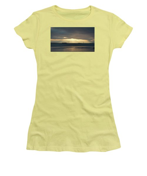 Daybreak Charleston Women's T-Shirt (Junior Cut) by Ed Waldrop